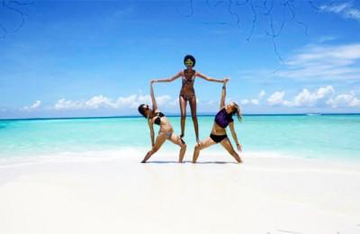Acro Yoga with Mandala Bali