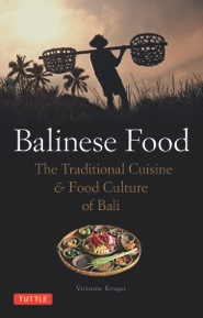 """Balinese Food"" Book Cover"