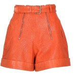 Carven - orange shorts