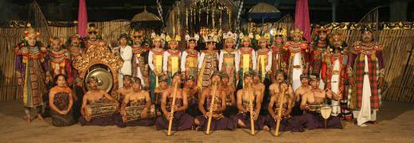 Gambuh Desa Batuan Ensemble perform in Ur Hamlet
