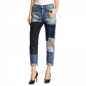 Junya Watanabe - patchwork jeans