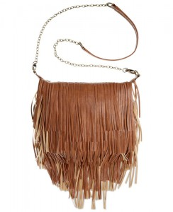 Over the shoulder tassled bag by Steve Madden
