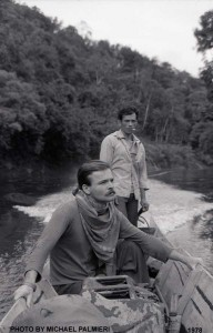 Michael on Katibas River, West Borneo