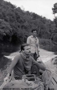 Michael on Katibas River, West Borneo