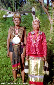 Grand Bahau Chief and wife