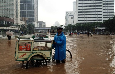 Jakarta's 2013 floods. Photo courtesy of abc.net.au
