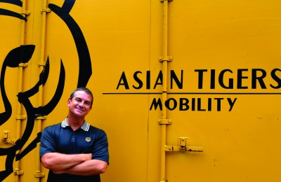 Bill with Tiger Truck