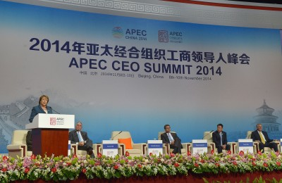 APEC CEO Summit 2014 by Gobierno de Chile (CC)