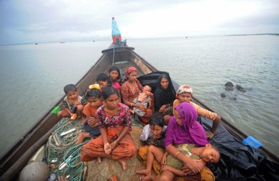 Rohingya refugees by Links International Journal