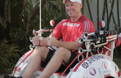 Scott-Thompson-on-his-modified-becak-which-he-plans-to-ride-from-Aceh-to-Jakarta-in-the-name-of-charity-585x585