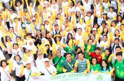 Clean Up Jakarta Day 2015