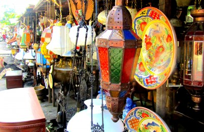 Antiques shopping in Surabaya