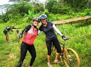Cycling in Kalimantan