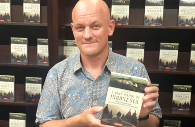 Tim Hannigan, A Brief History of Indonesia | Photo Courtesy of the Jakarta Post