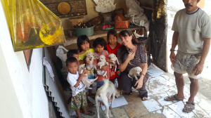 Bali Animal Welfare Association (BAWA) and children