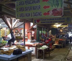 Traditional Market of Kalibaru Wetan, Banyuwangi