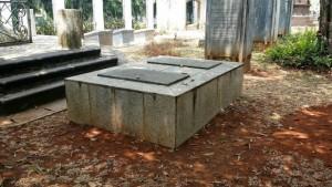 John Casper Leyden's tombstone