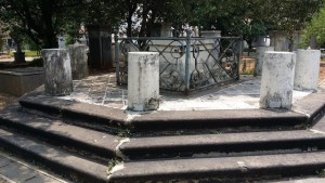 Olivia Mariamne Raffles's grave