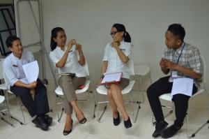 Training of Basic Sign Language