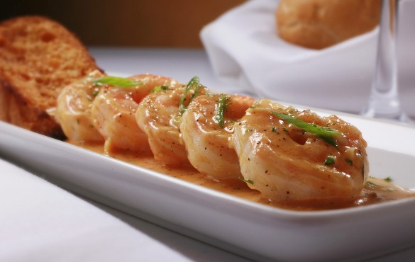 Barbecued shrimp | Photo Courtesy of Ruth's Chris Steak House
