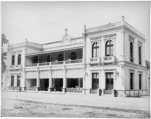 The Concordia Society Building in Surabaya, 1850 - 1900