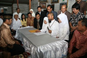 Polygamy is still practiced in Indonesia