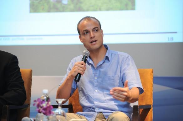 Aaron Fishman, owner of East Bali Cashews