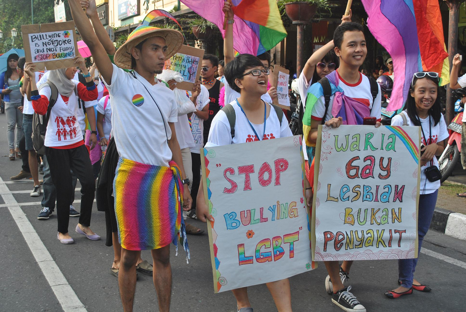 The threats faced by gay people in unfriendly countries are