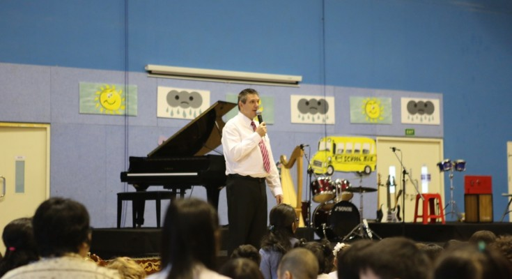 Dr Stuart Tasker, the new principal of ACG School Jakarta