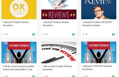 If you want a seasoned reviewer to provide a glowing endorsement of your hotel for only $5, visit Fiverr