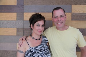 Samantha and her husband Thomas Beach