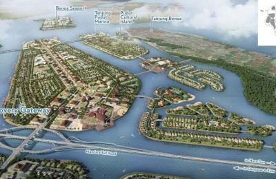 Benoa Bay reclamation plans. Courtesy of PT TWBI