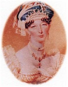 Raffles' second wife, Lady Sophia