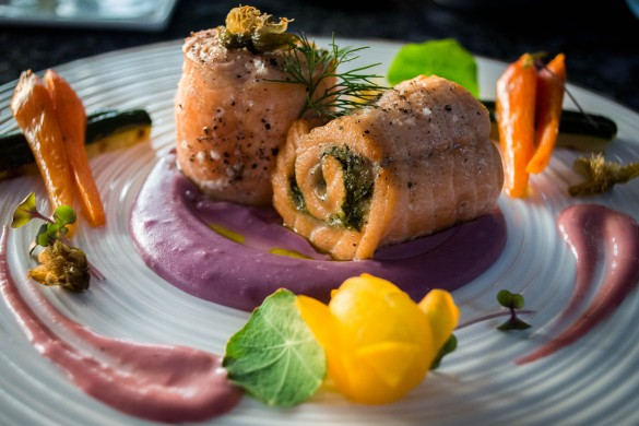 Salmon Roulette at Ma Joly | Photo courtesy of Intan Tanjung