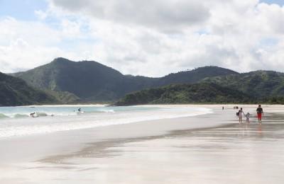 Selong Belanak Beach in Lombok. Photo by Angela Richardson