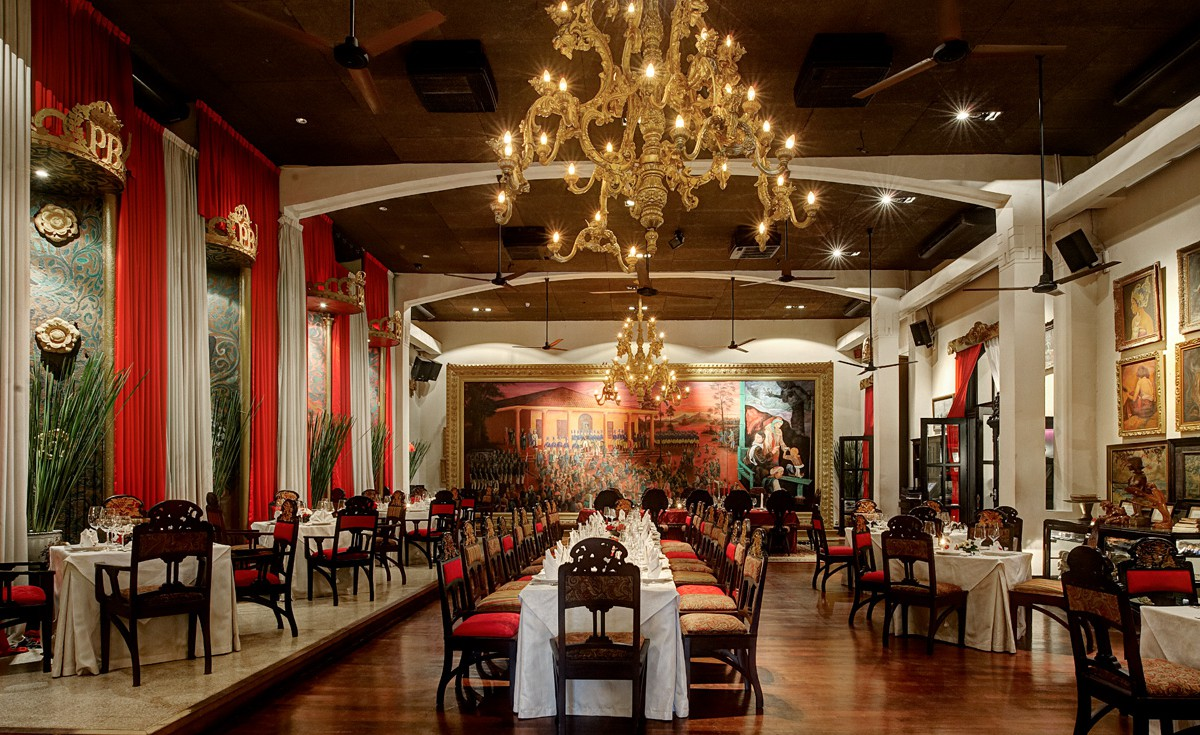 Tugu kunstkring paleis a culturally rich dining for Dining room zomato jkt