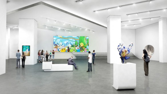 Preliminary rendering of the exterior of Museum MACAN | Photo by MET Studio Design Ltd.