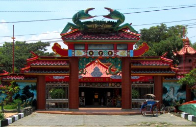 The Crab Temple - Klenteng Kwan Sing Bio