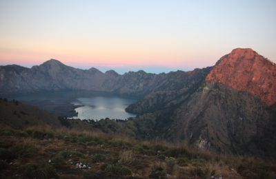 The Beautiful View of Mount Rinjani