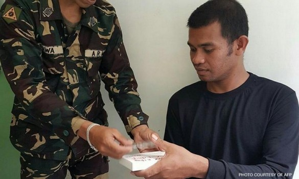 Harman Manggak was one of the fourteen Indonesians taken captive by Abu Sayyaf.