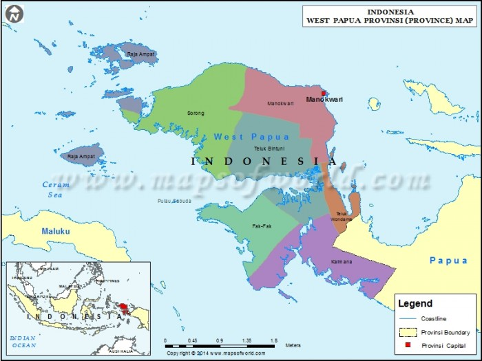 West Papua, Indonesia