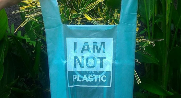 Compostable bag made from cassava starch