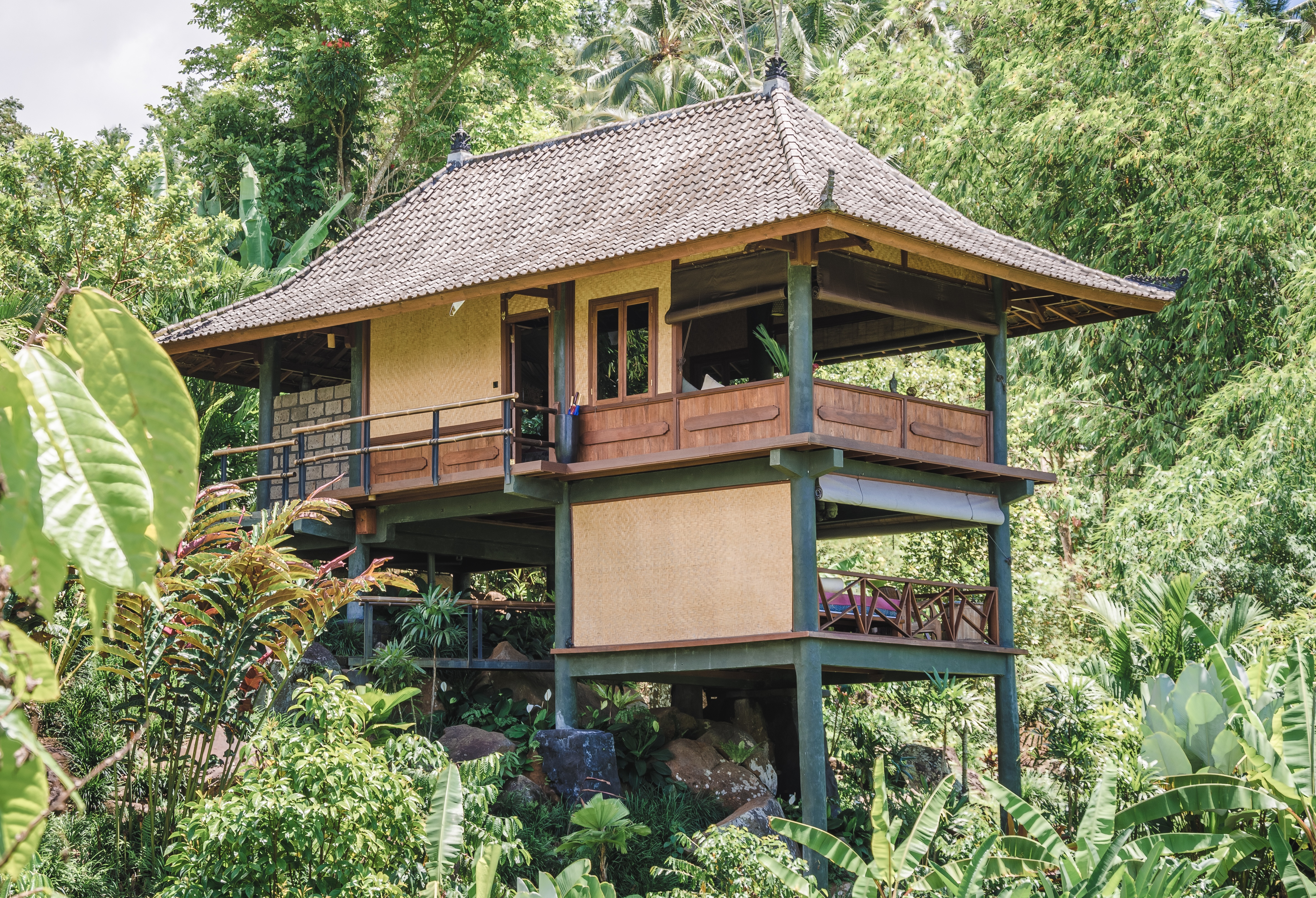 The Waterfall Bungalow at Bali Eco Stay