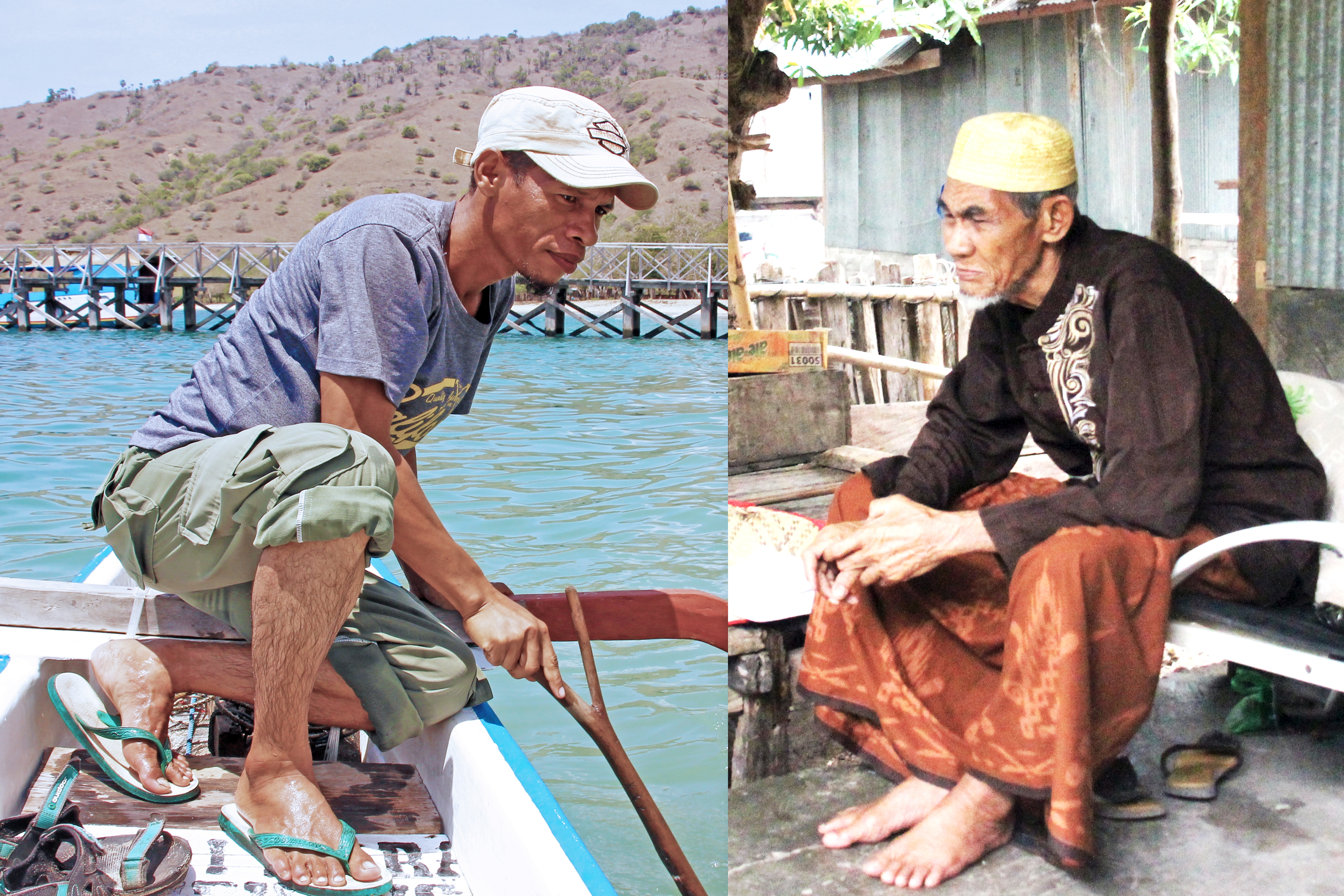 Ridwan and Haji Nuhung | Photo by Grace Susetyo