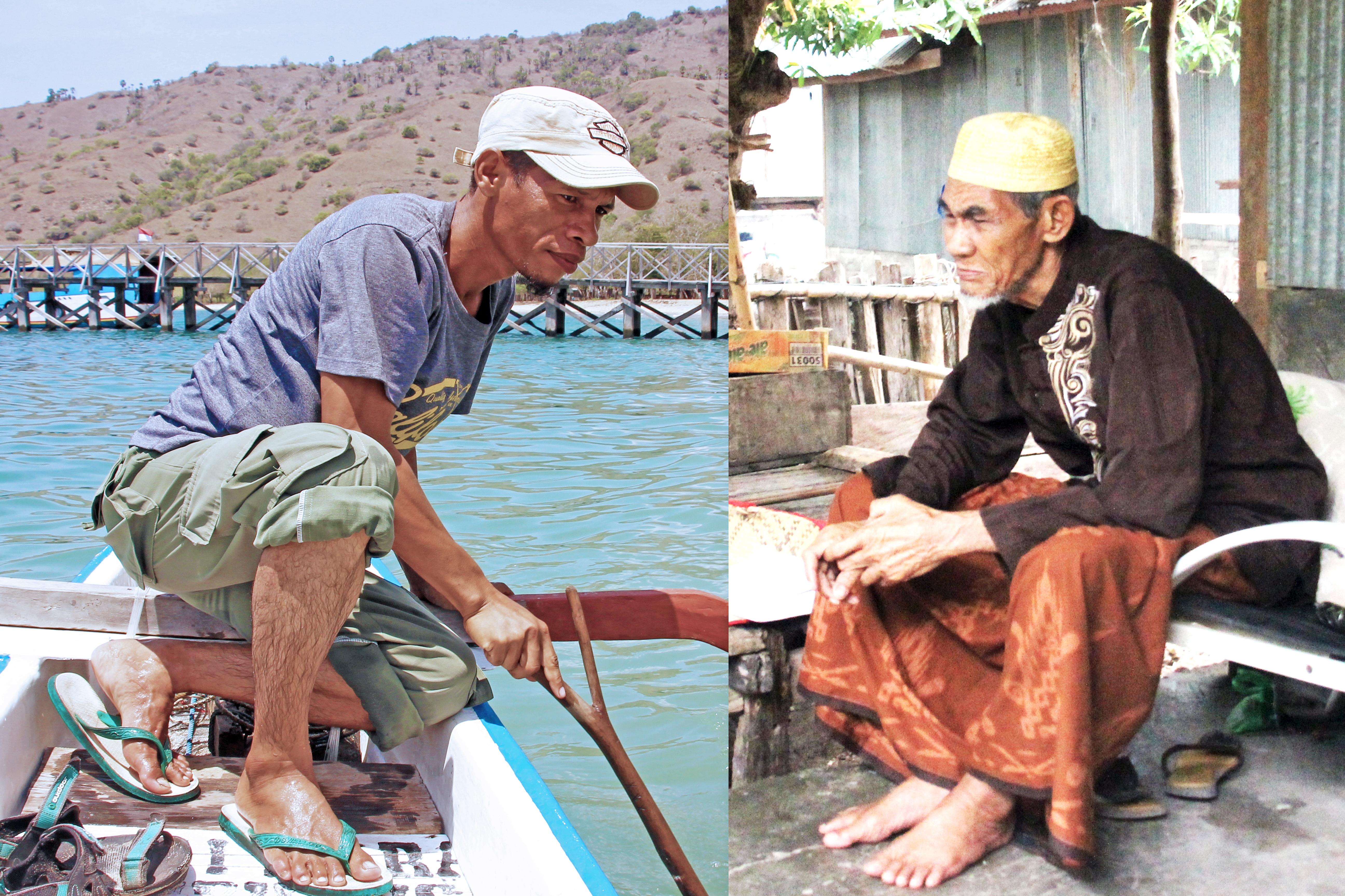 Ridwan and Haji Nuhung | Photo by Grace Susetyo