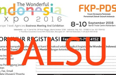 Fake Registration form for Fake Expo