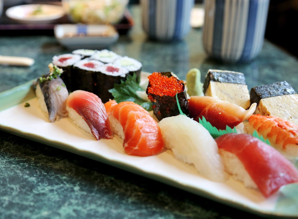 Goemon sushi| Photo courtesy of Manual Jakarta