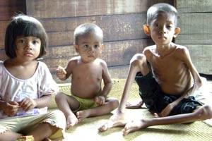 Children suffering from hunger in East Nusa Tenggara | Photo Courtesy of EraMuslim