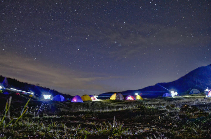 Night Camp Surya Kencana