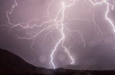 Lightning in Dieng